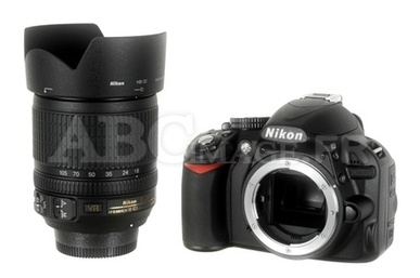 Reflex Nikon D3100 +18-105 VR